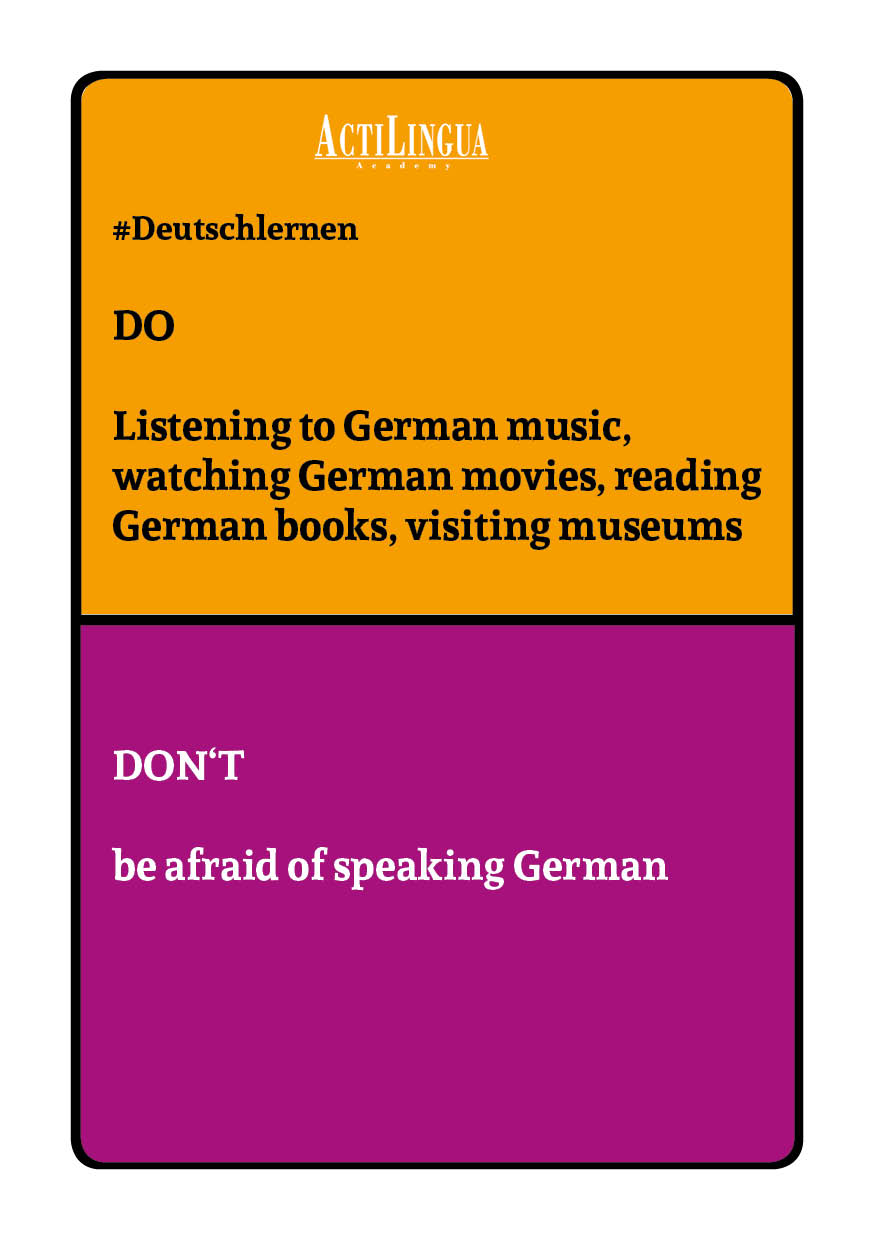 DO: Listen to German music