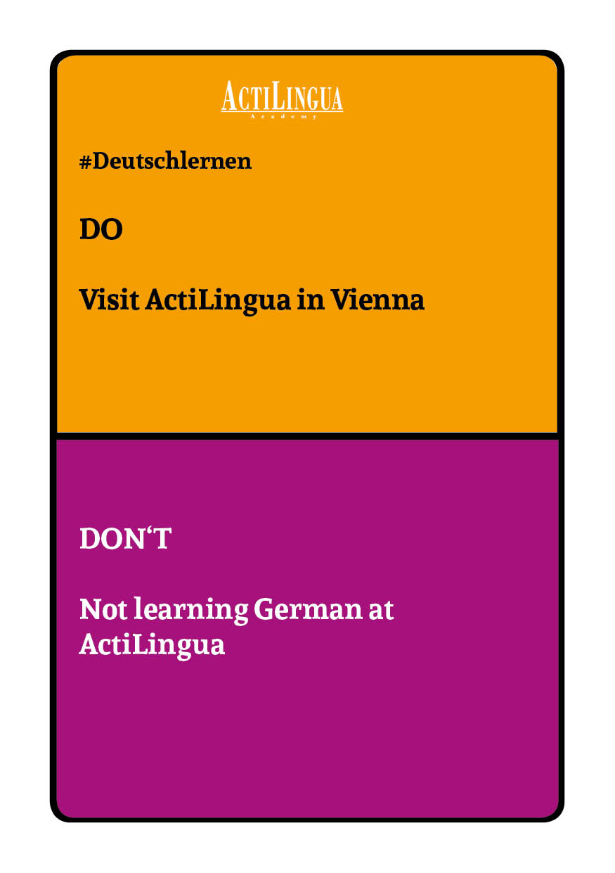 DO: Visit ActiLingua in Vienna