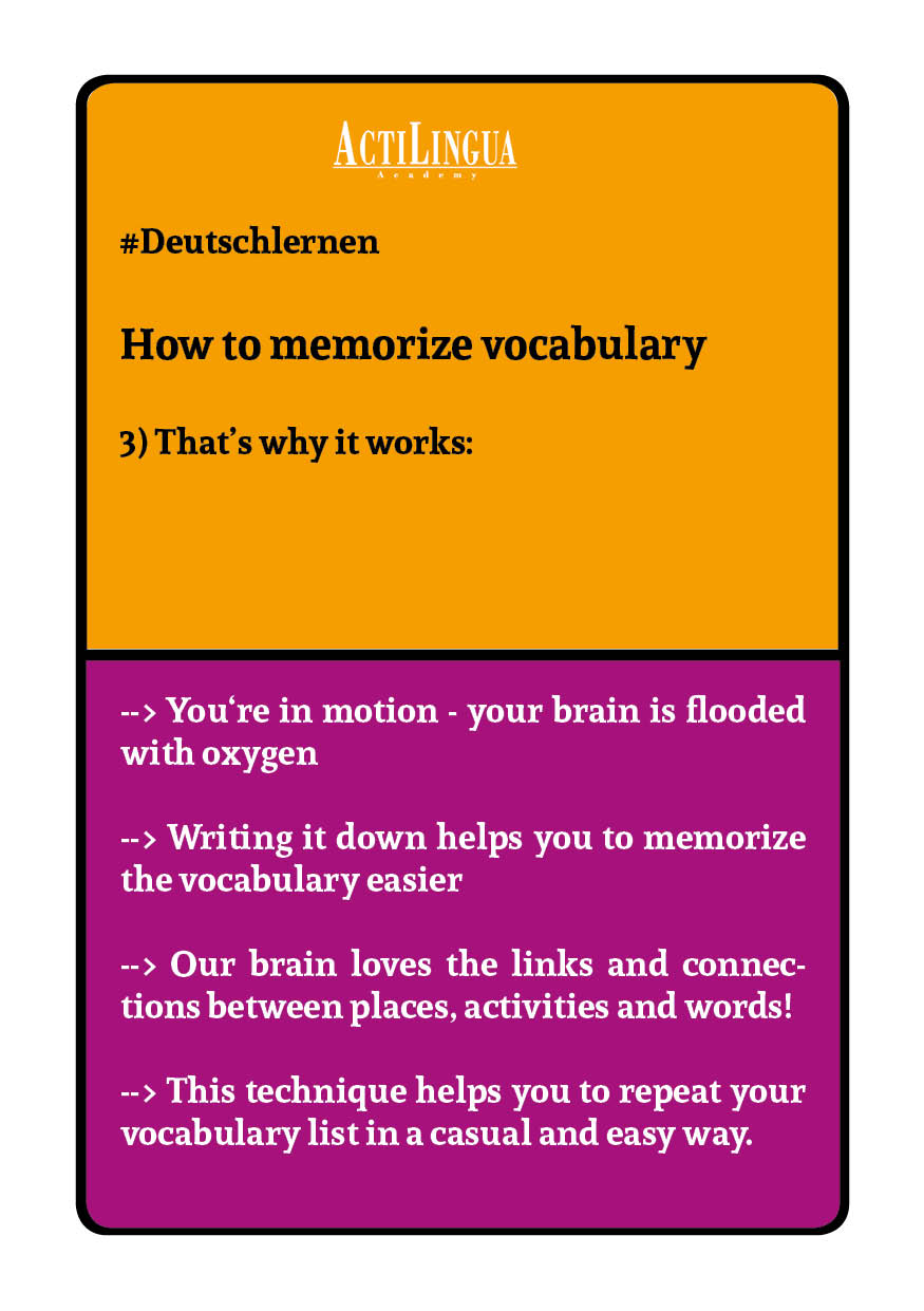 How to memorize vocabulary3