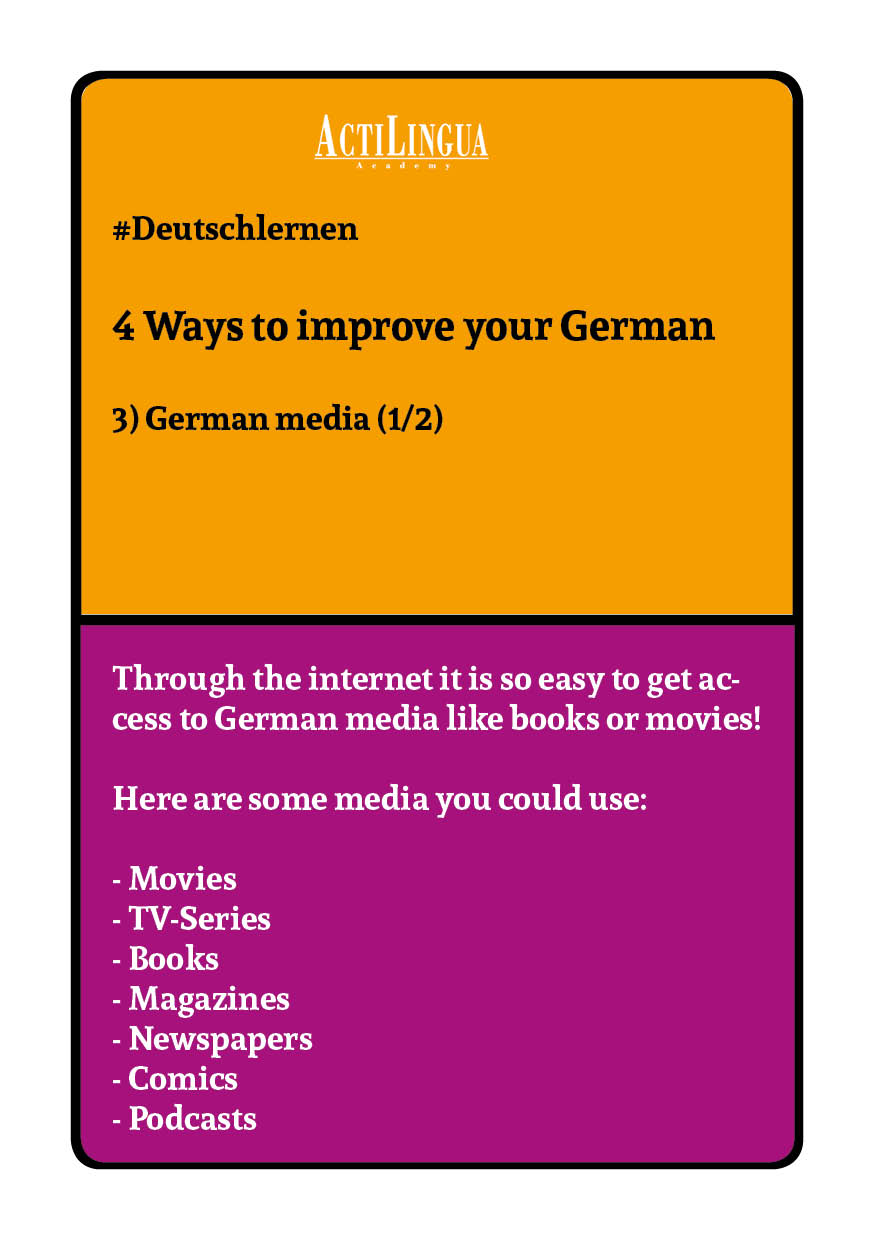 4 ways to improve your German: German media1