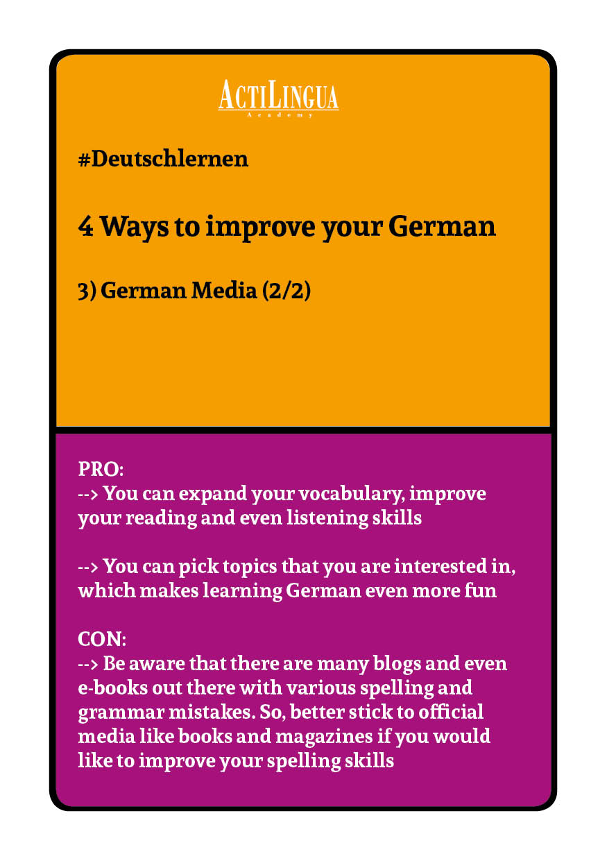 4 ways to improve your German: German media2